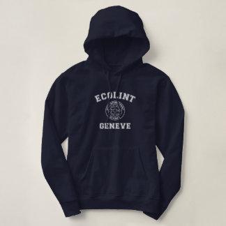 Sweatshirt à capuchon d'Ecolint de conception