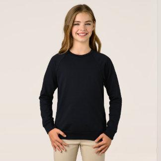 Sweatshirt américain de raglan de l'habillement