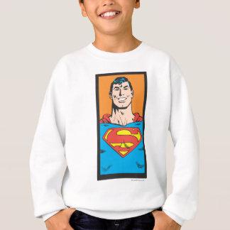 Sweatshirt Cadre de buste de Superman