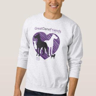 Sweatshirt das GDFRL der Dogge-Freund-Männer
