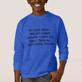 Sweatshirt de sensibilisation sur l'autisme pour