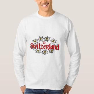 Sweatshirt d'edelweiss de la Suisse