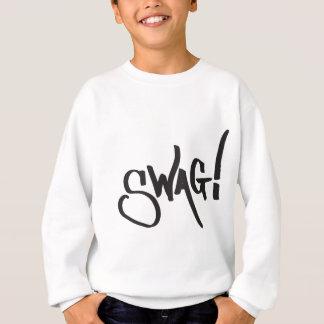 Sweatshirt Étiquette de butin - noir