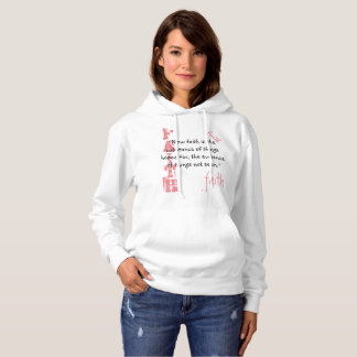 Sweatshirt-Glauben-Schrift, Hebräer-11:1 Hoodie