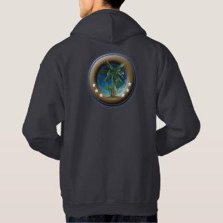 Sweatshirt mit der grundlegenden Kapuze für Mann