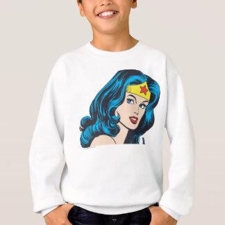 Sweatshirt Visage de femme de merveille