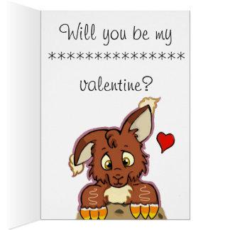 Sweet Cookie ,(Love valentine) Karte