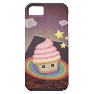 Sweet Rainbow Cupcake iPhone 5 Etui