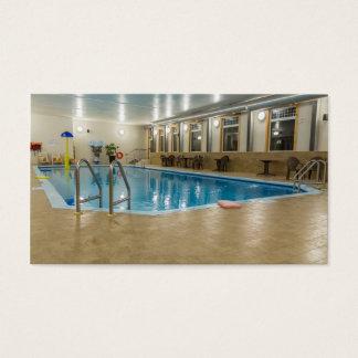 Swimmingpool Visitenkarte