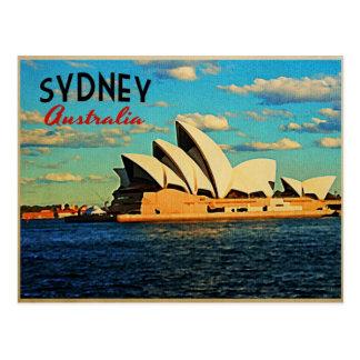 Sydney Australien Postkarte
