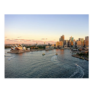 Sydney-Hafen - Australien - Postkarte