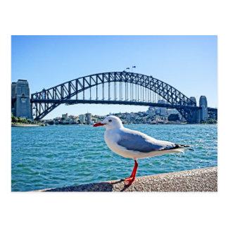 Sydney-Hafen-Brücke - Postkarte Sydneys,