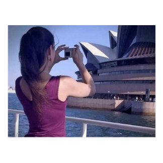 Sydney-Opernhaus-Postkarte Postkarten