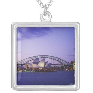 Sydney-Opernhaus und Hafen, neuer Süden 2 Versilberte Kette
