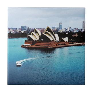 Sydney-Opernhauseigenschaft Kleine Quadratische Fliese
