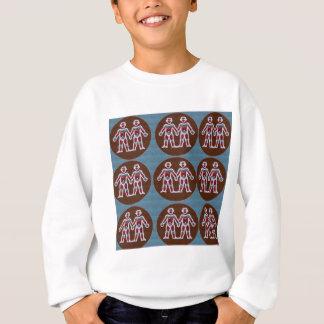 SYMBOL Deko-Muster: SPASS Ereignis-Grüße GESCHENKE Sweatshirt