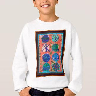 Symbol-Geschenk-Shirts des Verkaufs-KARUNA Reiki Sweatshirt