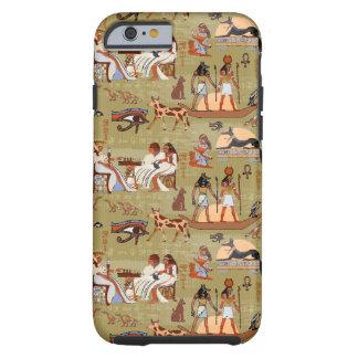Symbol-Muster Ägyptens   Tough iPhone 6 Hülle