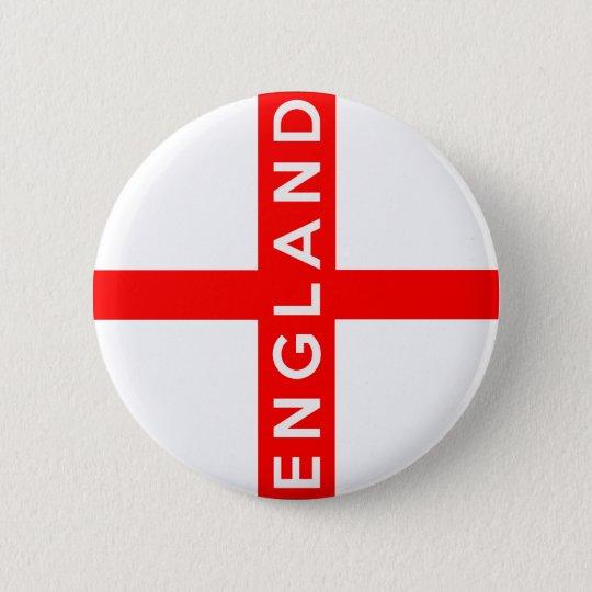 Symbol-Namentext England-Landesflagge britischer Runder Button 5,1 Cm