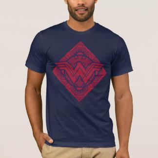 Symbole amazonien de femme de merveille t-shirt