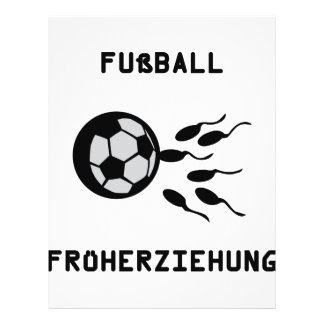 Symbole de Fussball Früherziehung Tract Personnalisé