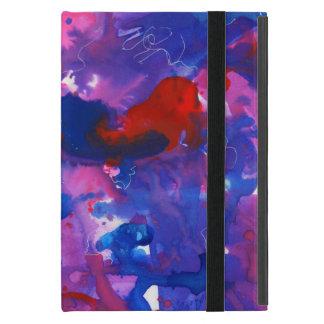 Symphonie abstrakter iPad Fall in Rotem und in iPad Mini Schutzhüllen