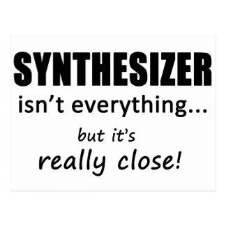 Synthesizer ist nicht alles postkarte