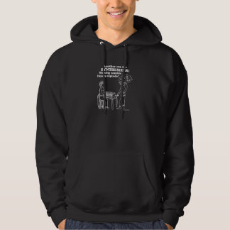 Synthesizer-Zombie explodieren Hoodie
