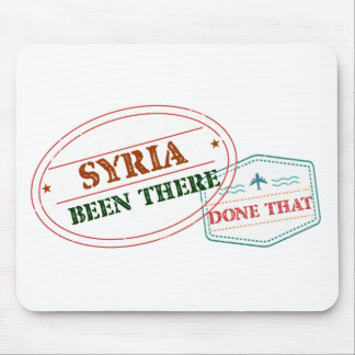 Syrien dort getan dem mousepad
