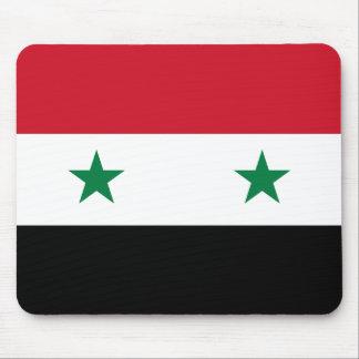Syrien-Flagge Mousepad