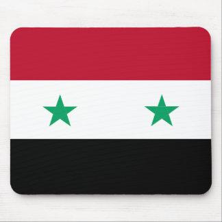 Syrien-Flagge Mousepads