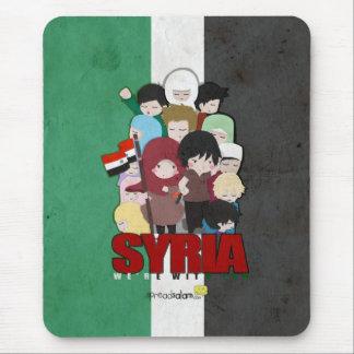 SYRIEN - wir sind mit Ihnen Mauspad