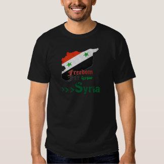 Syrische Freiheit Hemd