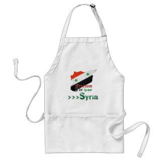 Syrische Freiheit Schürze