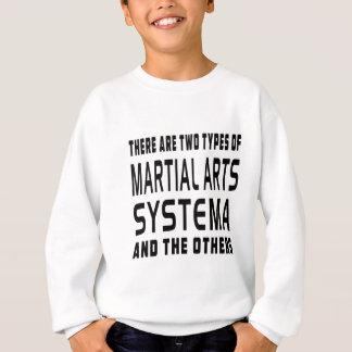 Systema Kampfkunst-Entwürfe Sweatshirt