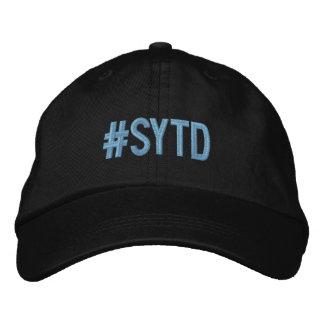 SYTD justierbare Kappe Bestickte Baseballmütze
