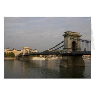 Szechenyi lanchid Szechenyi Kettenbrücke), 2 Karte