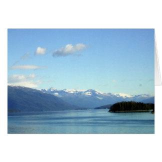 Szene von Alaska Karte