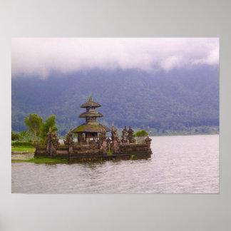 Szene von Bali Poster