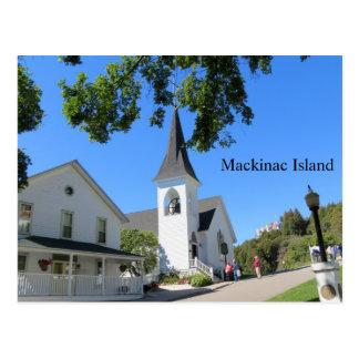 Szene von Mackinac Insel Postkarte