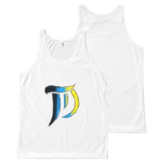 T.D. Kunst-Logo Unisexsleeveless Komplett Bedrucktes Tanktop