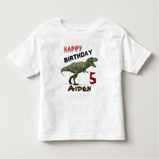 T-Rex Dinosaurier-Kindergeburtstag-T - Shirt