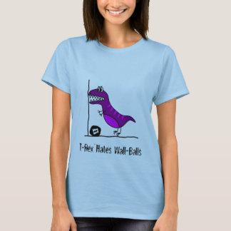 T-Rex hasst Wallballs T-Shirt