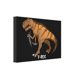 T-rex Leinwanddruck