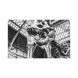 """""""T-Rex Skeleton"""" Wandkunst Leinwanddruck"""