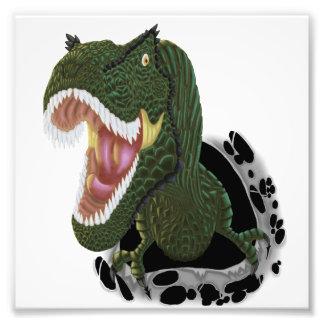 T-Rex sprengte 2 Fotodruck