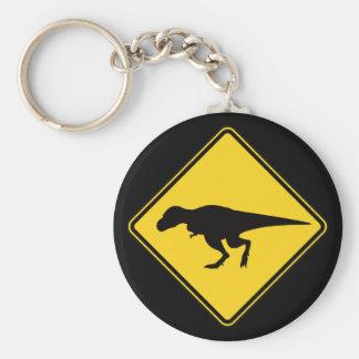 T-Rex Überfahrt Schlüsselanhänger