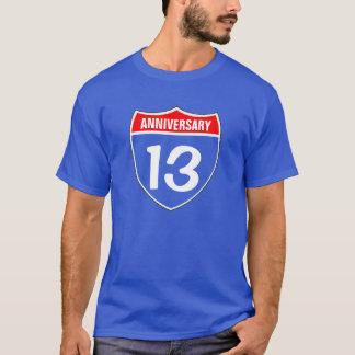 T-shirt 13ème Anniversaire