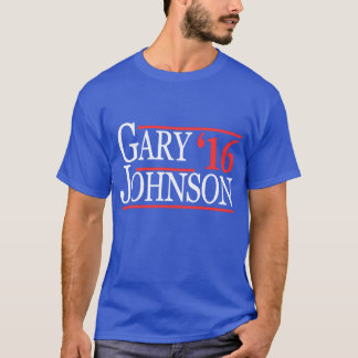 T - Shirt 2016 Garys Johnson