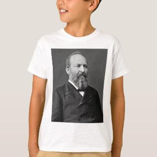 T-shirt 20ème président de James Garfield
